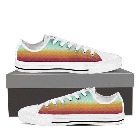 Pixel Dusk Women's Low Top