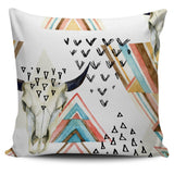 Southwestern Triangles Pillow Cover