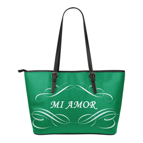 """Marina"" Small Leather Tote"