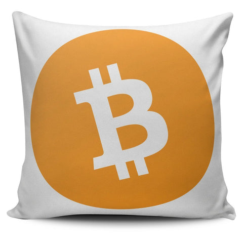 Cryptocurrency Bitcoin Cash Pillow Cover | HODL On For Dear Life