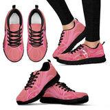 Women's Pink Jane Austen Sneakers