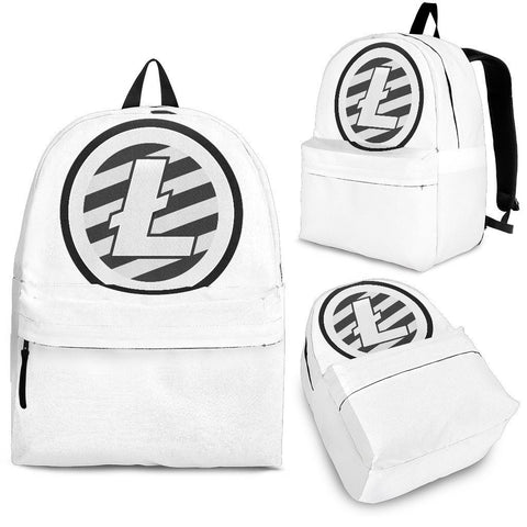 Cryptocurrency Litecoin Backpack | HODL On For Dear Life