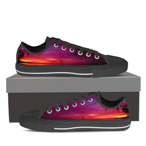 Paradise Sunset Men's Low Top