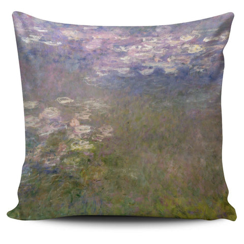Water Lilies Pillow Case