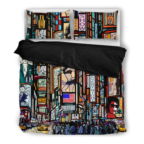 Times Square Duvet Set