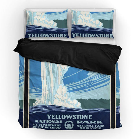 Yellowstone National Park Duvet Set