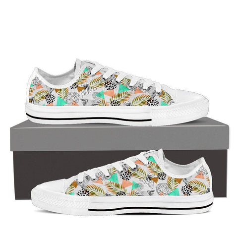 Pyramid Palm Women's Low Top