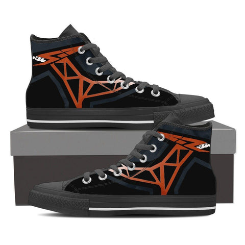 Men's KTM Inspired High Tops - black
