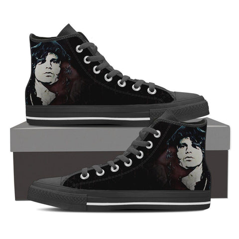 Men's Jim Morrison Dark High Tops