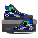Men's Movistar Yamaha High Tops - Black
