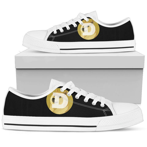 Cryptocurrency Dogecoin Men's Low Tops | HODL On For Dear Life