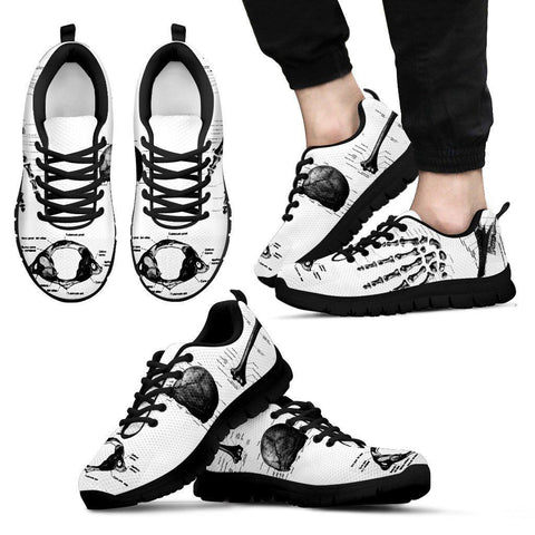 Men's Medical Diagram Sneakers
