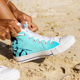 Women's Audrey Blue Hepburn High Tops