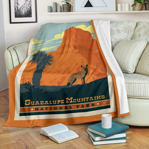 Guadalupe Mountains National Park Premium Blanket