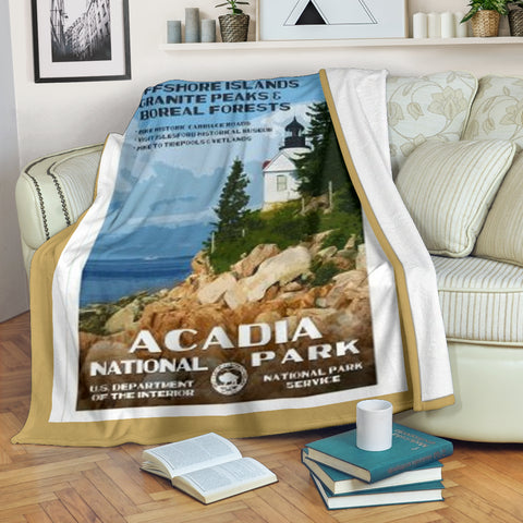 Acadia National Park Premium Blanket