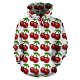 All Over Hoodie - Cherry