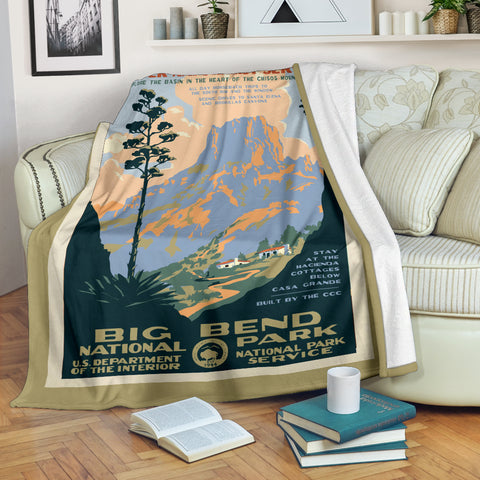 Big Bend National Park Premium Blanket