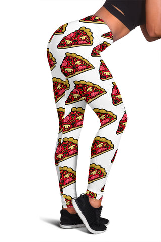 Women's Leggings - Pizza