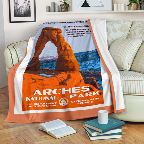 Arches National Park Premium Blanket