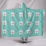 Dental Dentist Tooth Hooded Blanket