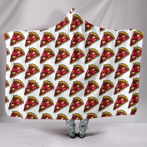 Hooded Blanket - Pizza