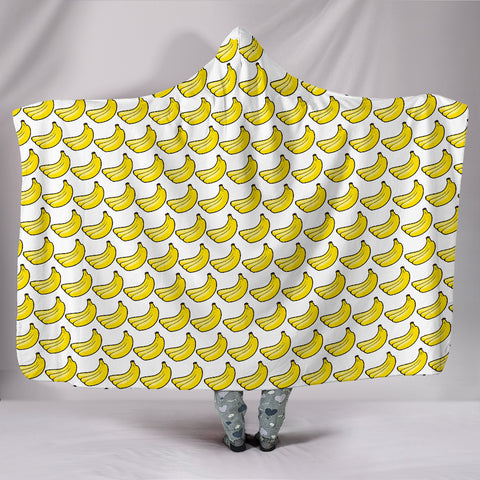 Hooded Blanket - Bananas