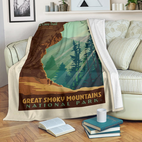 Great Smoky Mountains National Park Premium Blanket