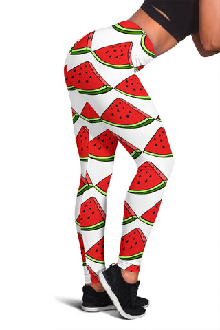 Women's Leggings - Watermelon