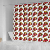 Shower Curtain - Pizza