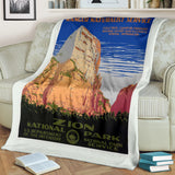 Zion National Park Premium Blanket