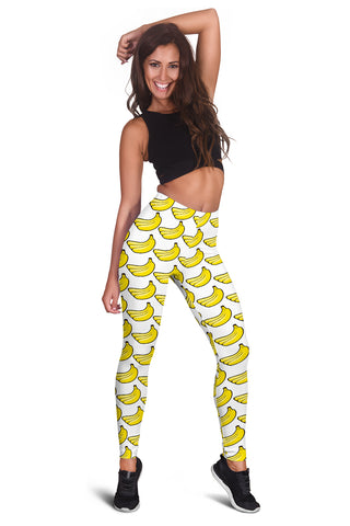 Women's Leggings - Bananas
