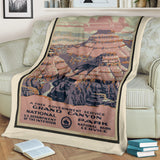 Grand Canyon National Park Premium Blanket