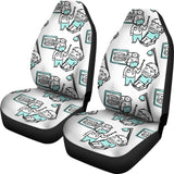 Dental Dentist Cartoon Car Seat