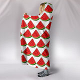 Hooded Blanket - Watermelon