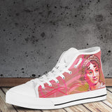 Women's Jane Austen High Tops - Pink