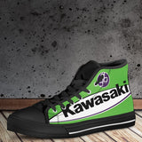 Men's Kawasaki GBmoto High Tops - Black