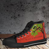 Women's To Kill A Mockingbird Red High Tops