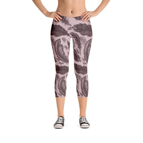 Feathers Capri Leggings