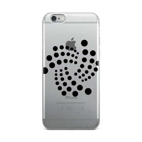 Cryptocurrency IOTA iPhone Case | HODL On For Dear Life