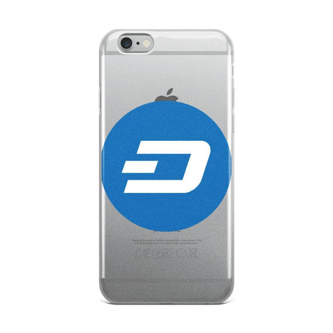 Cryptocurrency Dash iPhone Case | HODL On For Dear Life