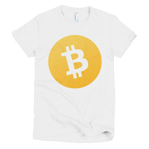 Cryptocurrency Women's Short Sleeve Bitcoin Cash T-Shirt | HODL On For Dear Life
