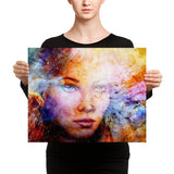 Starry Eyes Canvas Print