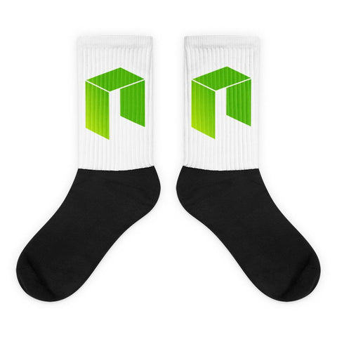 Cryptocurrency NEO Socks | HODL On For Dear Life