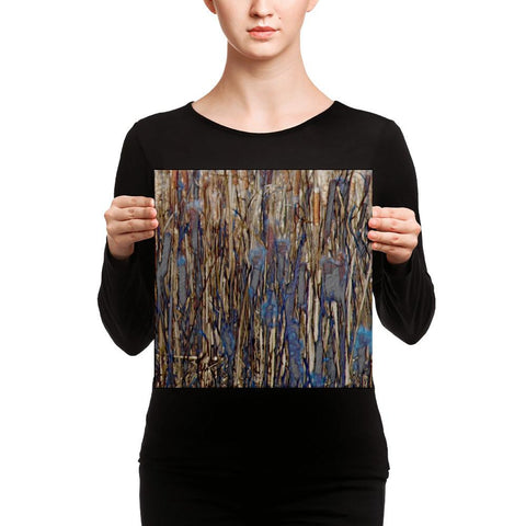 Abstract Grasslands Canvas