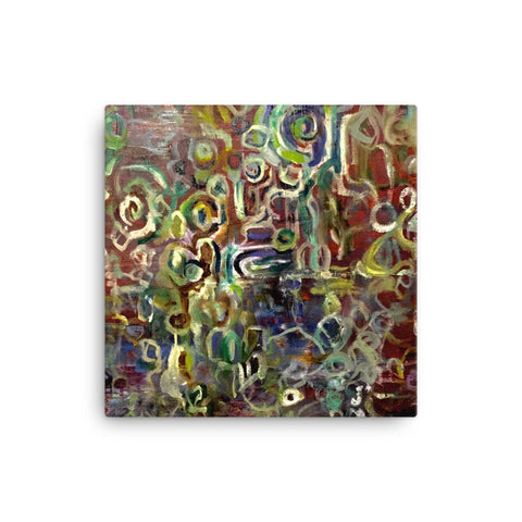 Abstract Textures Canvas
