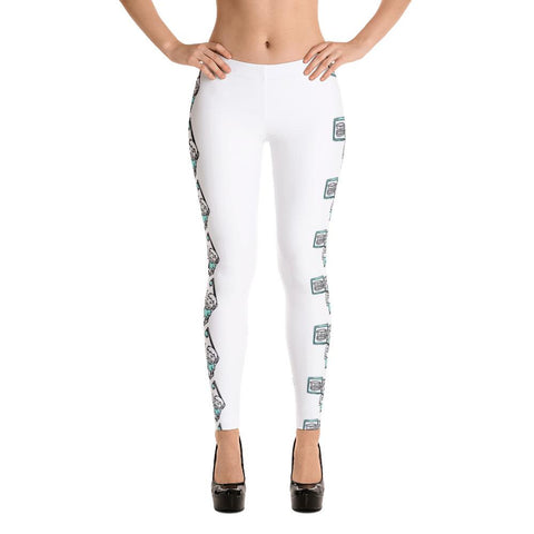 Dental Dentist Cartoon Leggings