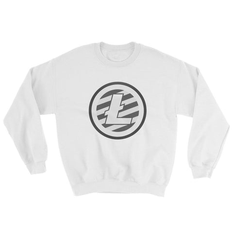 Cryptocurrency Litecoin Crew Neck Sweater | HODL On For Dear Life