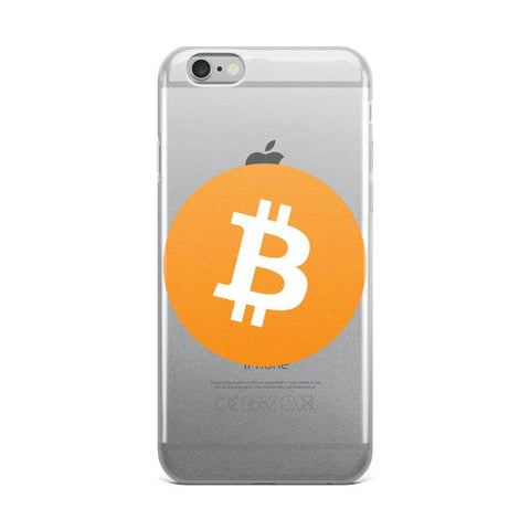 Cryptocurrency Bitcoin iPhone Case | HODL On For Dear Life