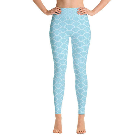 Retro Waves Yoga Leggings