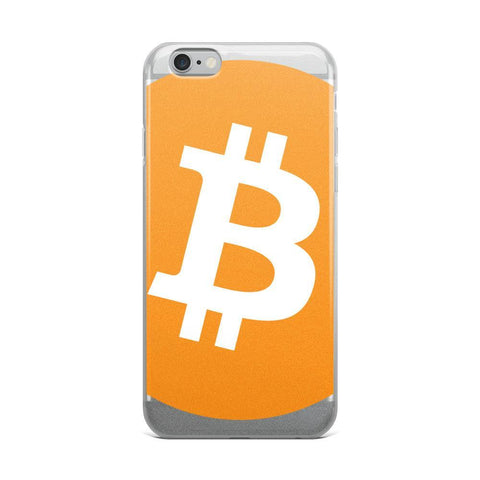Cryptocurrency Bitcoin iPhone Case | Closeup | HODL On For Dear Life